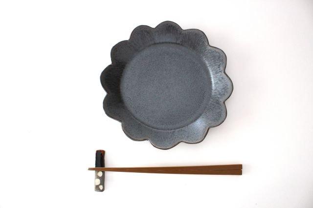 花皿 M 黒 半磁器 東月窯 久保 雅裕 画像6