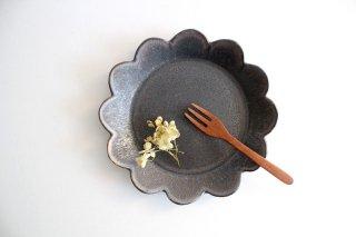 花皿 M 黒 半磁器 東月窯 久保 雅裕商品画像