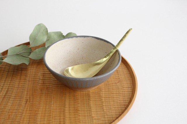 ストライプ飯碗 陶器 古川まみ