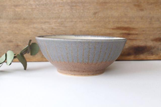 ストライプ飯碗 陶器 古川まみ 画像2