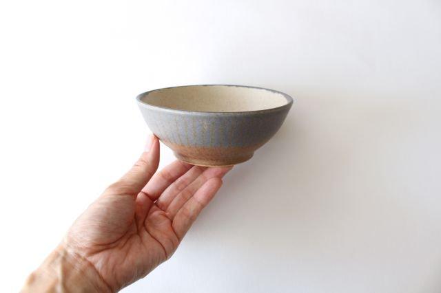 ストライプ飯碗 陶器 古川まみ 画像4
