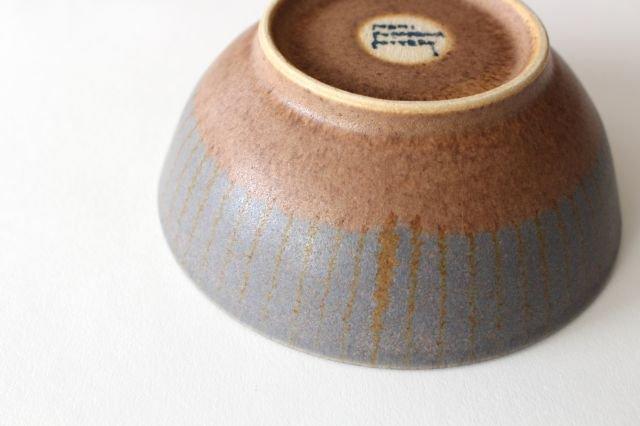 ストライプ飯碗 陶器 古川まみ 画像5