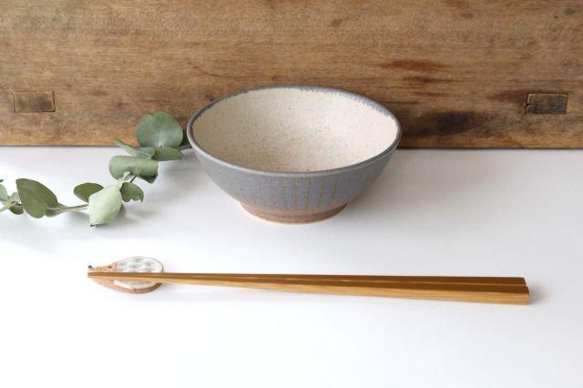 ストライプ飯碗 陶器 古川まみ 画像6