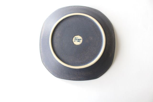 ストライプ皿 陶器 古川まみ 画像5