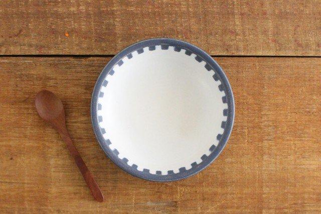 四角模様小皿 陶器 古川まみ 画像3