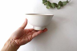 飯碗 中 白 陶器 直井真奈美商品画像