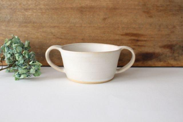 こどもカップ 白 陶器 直井真奈美