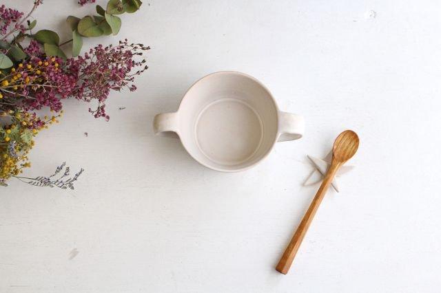 こどもカップ 白 陶器 直井真奈美 画像2