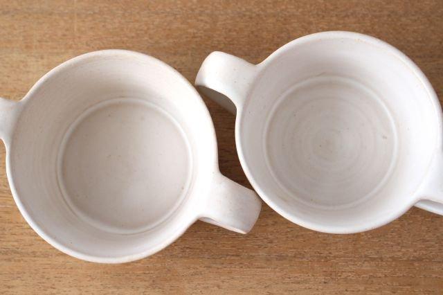 こどもカップ 白 陶器 直井真奈美 画像3