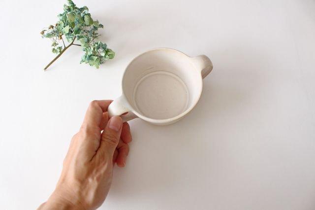 こどもカップ 白 陶器 直井真奈美 画像4