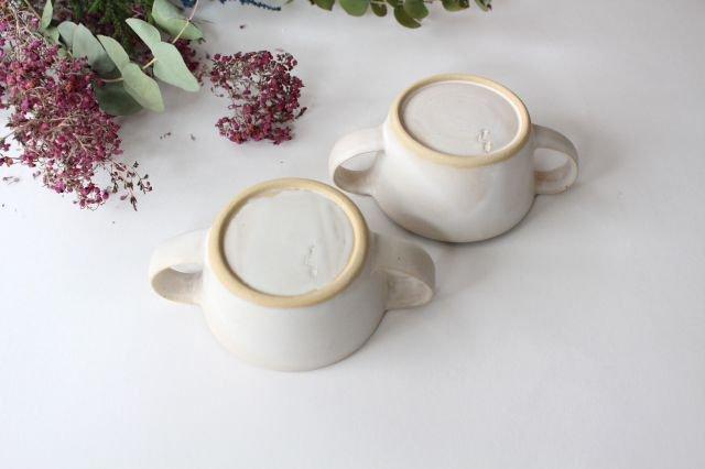 こどもカップ 白 陶器 直井真奈美 画像5