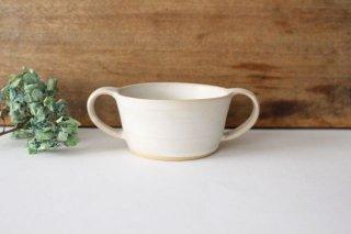 こどもカップ 白 陶器 直井真奈美商品画像