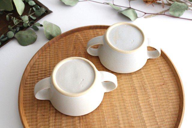 こどもカップ 灰 陶器 直井真奈美 画像3