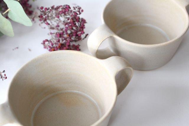 こどもカップ 灰 陶器 直井真奈美 画像6