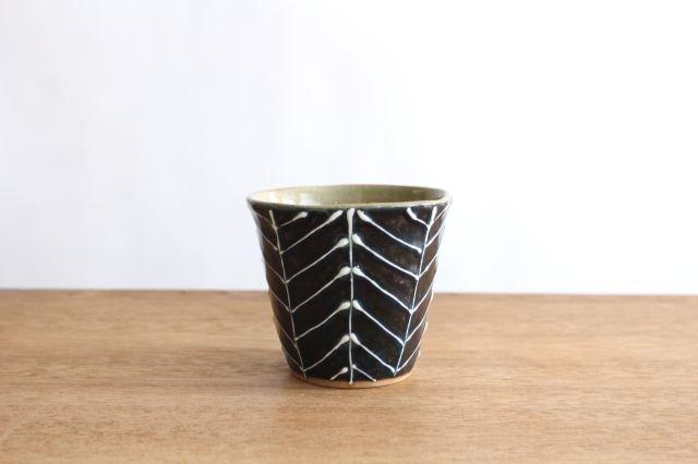 森のカップ 陶器 波佐見焼 sen