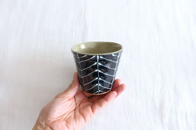 森のカップ 陶器 波佐見焼 sen 画像2