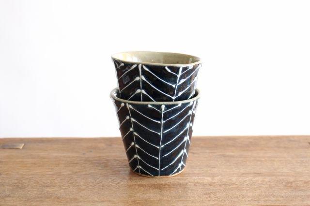 森のカップ 陶器 波佐見焼 sen 画像4