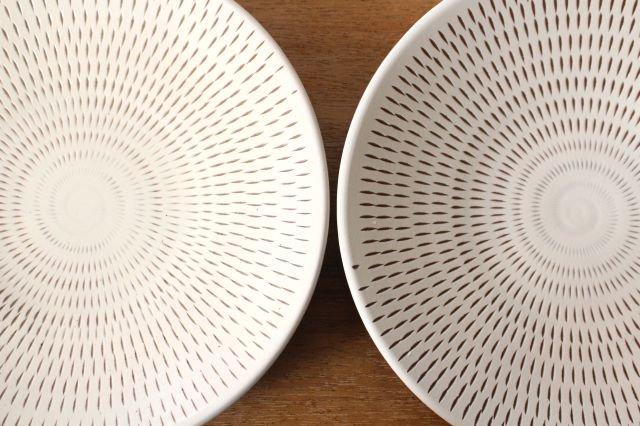 7寸皿 トビカンナ 陶器 小石原焼 画像3