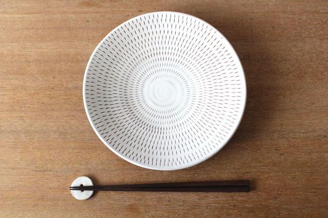 7寸皿 トビカンナ 陶器 小石原焼 画像4