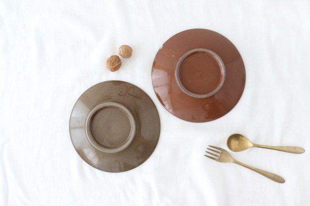 7寸皿 トビカンナ 陶器 小石原焼 画像6