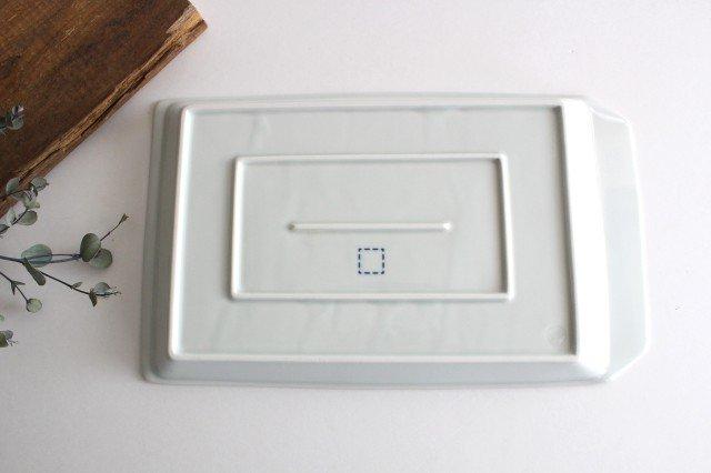 波佐見焼 キリトル プレート 大 ホワイト 磁器 画像3
