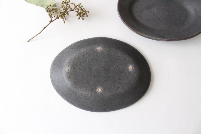 オーバルプレート グレー 陶器 TULUSIWORKS 画像5