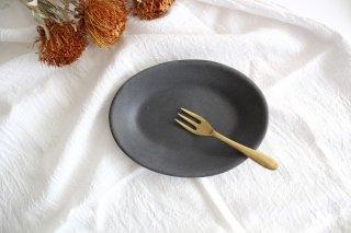 オーバルプレート グレー TULUSIWORKS 陶器商品画像