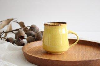 マグカップA 黄 陶器 TULUSIWORKS 商品画像