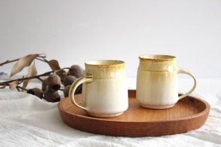 マグカップA 白錆 陶器 TULUSIWORKS商品画像