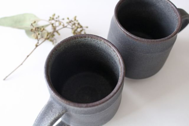 マグカップA グレー 陶器 TULUSIWORKS  画像6