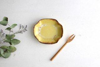角豆皿 黄 TULUSIWORKS 陶器商品画像