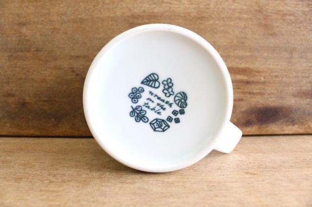 波佐見焼 Wreath On The Table マグカップ ブルー 磁器 画像5