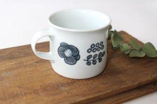 波佐見焼 Wreath On The Table マグカップ グレー 磁器商品画像