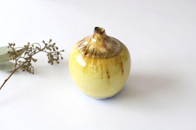 一輪挿し 黄 TULUSIWORKS 陶器