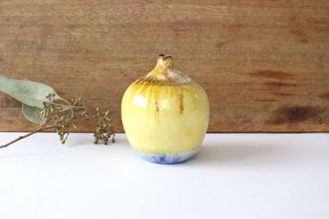 一輪挿し 黄 TULUSIWORKS 陶器 画像2