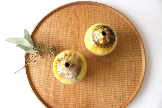 一輪挿し 黄 TULUSIWORKS 陶器 画像5