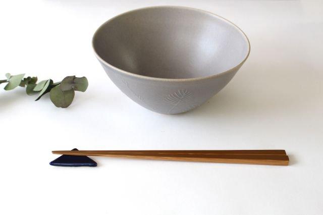 三角はしおき 瑠璃 陶器 momone 画像5
