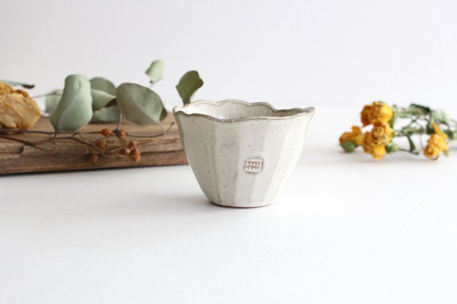 ポーチュラカカップ 陶器 キエリ舎 画像5