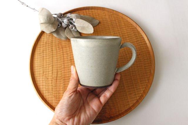 マグカップ 大 陶器 恵山 西村峰子 画像2