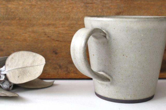 マグカップ 大 陶器 恵山 西村峰子 画像5