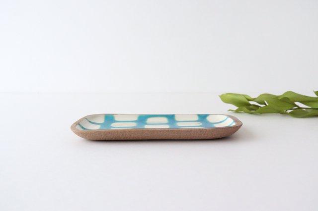 角皿 小 トルコブロック 陶器 一翠窯 やちむん 画像2