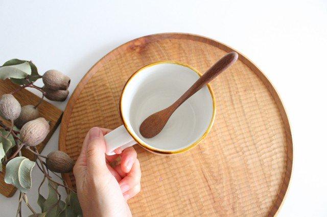 ハリネズミのマグカップ 磁器 原村俊之 画像2