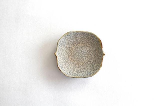 豆皿 墨入貫入 陶器 はなクラフト