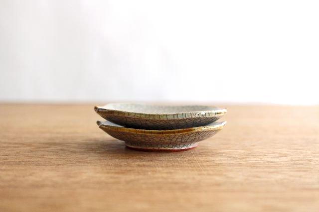 豆皿 墨入貫入 陶器 はなクラフト 画像3
