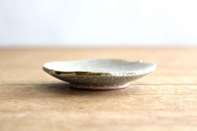 豆皿 墨入貫入 陶器 はなクラフト 画像5