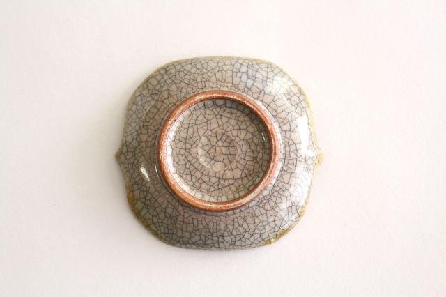 豆皿 墨入貫入 陶器 はなクラフト 画像6