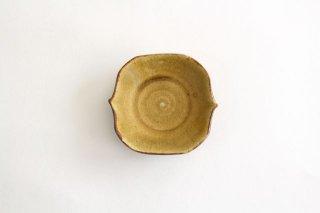豆皿 飴釉 陶器 はなクラフト商品画像