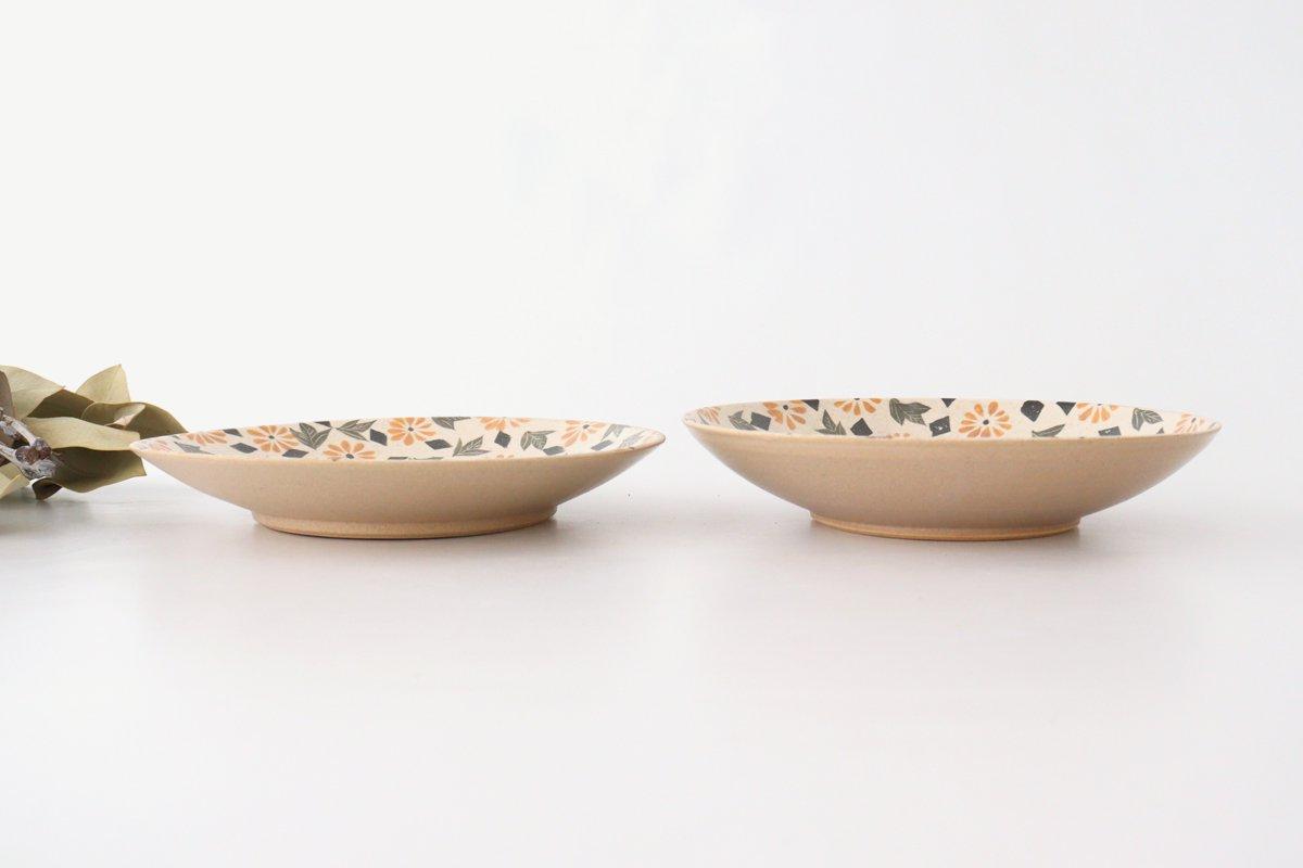 マーガレット7寸皿 陶器 樋口早苗 画像2