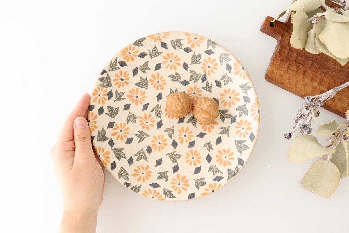 マーガレット7寸皿 陶器 樋口早苗 画像3