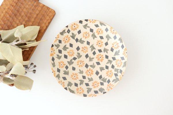 マーガレット7寸皿 陶器 樋口早苗商品画像